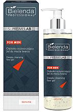 Düfte, Parfümerie und Kosmetik Tiefenreinigendes Gesichtsgel für Männer - Bielenda Professional SupremeLab For Men