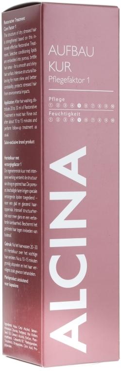 Haarmaske - Alcina Hair Care Factor 1 Restorative Treatment  — Bild N1