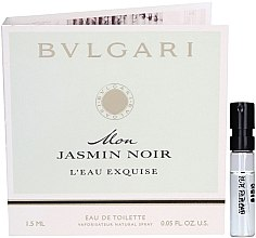 Düfte, Parfümerie und Kosmetik Bvlgari Mon Jasmin Noir L'Eau Exquise - Eau de Toilette (Probe)