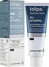 Düfte, Parfümerie und Kosmetik Regenerierende Anti-Aging Nachtcreme 35+ - Tolpa Provivo 35+ Renewing Night Anti-Age Cream