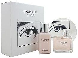 Düfte, Parfümerie und Kosmetik Calvin Klein Women - Duftset (Eau de Parfum 100ml + Körperlotion 100ml)