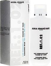 Düfte, Parfümerie und Kosmetik 2in1 Sanfte Reinigungsmilch für Gesicht und Augen - Aura Chake Cleansing Milk Face & Eyes