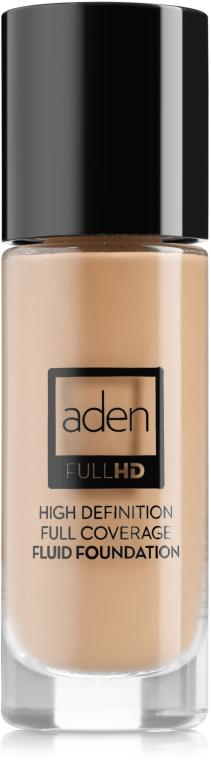 Deckende Fluid Foundation - Aden Cosmetics High Definition Fluid Foundation