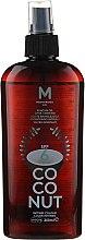 Düfte, Parfümerie und Kosmetik Bräunungsöl mit Kokosnuss SPF 6 - Mediterraneo Sun Coconut Suntan Oil Dark Tanning SPF6
