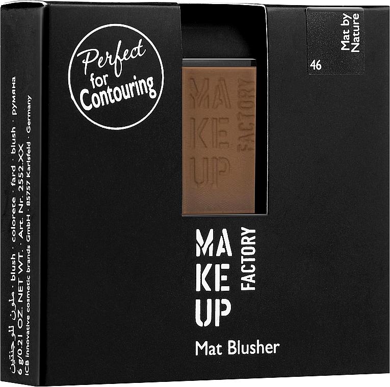 Mattierendes Rouge - Make Up Factory Mat Blusher