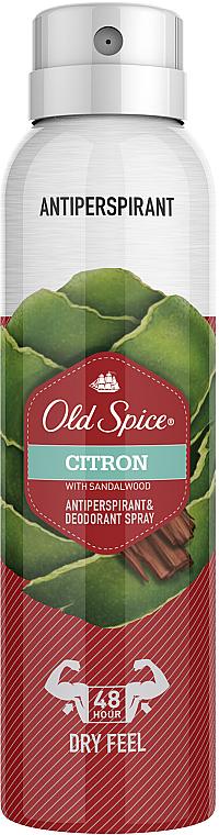 Deospray Antitranspirant - Old Spice Citron Dezodorant Spray
