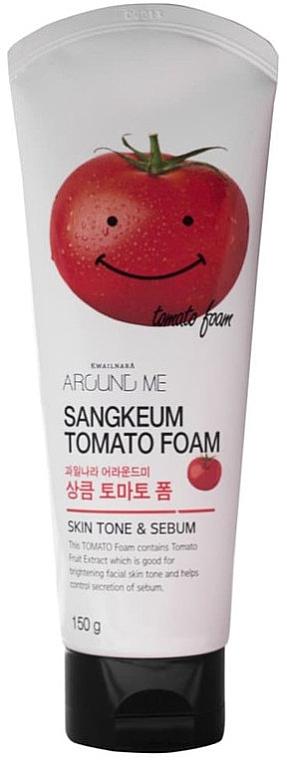 Gesichtsreinigungsschaum mit Tomatenextrakt - Welcos Around Me Sangkeum Tomato Foam