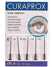Düfte, Parfümerie und Kosmetik Interdentalbürsten-Set CPS 28 5 St. - Curaprox Strong Implant