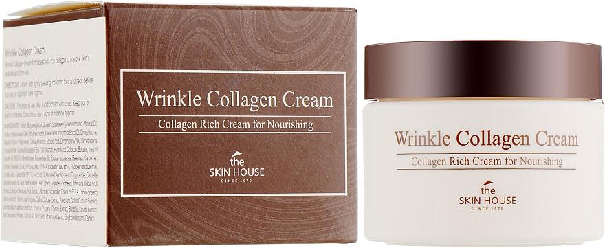 Anti-Falten Gesichtscreme mit Kollagen - The Skin House Wrinkle Collagen Cream