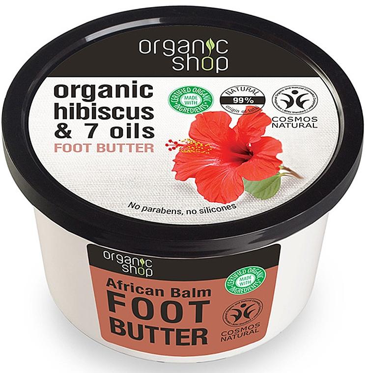 Fußbutter mit Bio Rooibos und 7 Ölen - Organic Shop Organic Rooibos & 7 Oils Foot Butter — Bild N1
