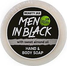 Düfte, Parfümerie und Kosmetik Hand- und Körperseife mit süßem Mandelöl für Männer - Beauty Jar Hand & Body Soap