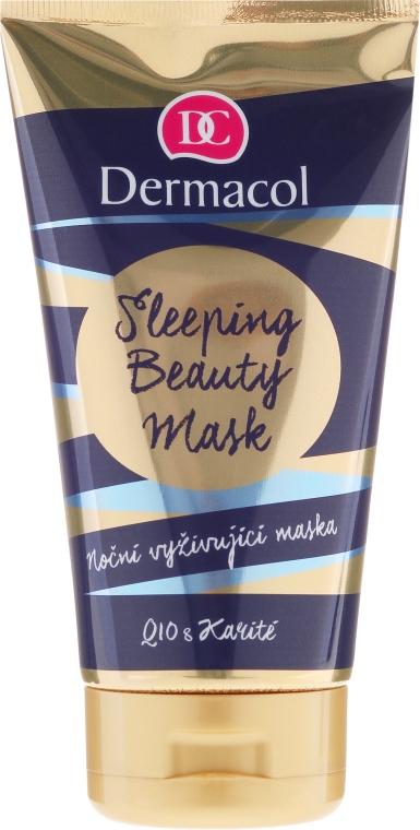 Nährenede Nachtmaske für das Gesicht mit Sheabutter und Q10 - Dermacol Sleeping Beauty Mask