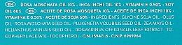 Regeneriernedes und nährendes Muskatrosenöl für das Gesicht mit Omega 3, 6 und 9 - Babe Laboratorios Regenerating Rosa Moschata Oil — Bild N3