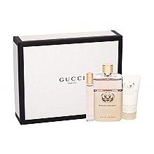 Düfte, Parfümerie und Kosmetik Gucci Guilty Pour Femme - Duftset (Eau de Parfum 90ml+Eau de Toilette 7.4ml+Körperlotion 50ml)