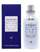Düfte, Parfümerie und Kosmetik Molinard Homme III Molinard - Eau de Toilette