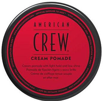 Haarpomade für leichten Halt und matten Finish - American Crew Cream Pomade