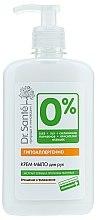 Düfte, Parfümerie und Kosmetik Creme-Seife für Hände mit Oliven- und Weizenextrakt - Dr. Sante 0 Percent