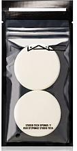 Düfte, Parfümerie und Kosmetik Make-up Schwämmchen 2 St. - M.A.C Studio Disc Sponge