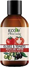 Düfte, Parfümerie und Kosmetik Mizellenwasser mit Tomaten- und Olivenextrakt - Eco U