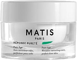 Düfte, Parfümerie und Kosmetik Anti-Falten Creme für unreine Haut - Matis Reponse Purete Pure-Age