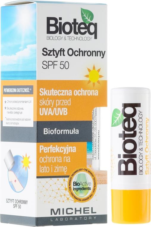 Lippenbalsam SPF 50 - Bioteq Lip Balm Sun Protector SPF 50