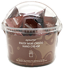 Düfte, Parfümerie und Kosmetik Nährende Handcreme mit Kakao-Extrakt - Ayoume Enjoy Mini Choco Hand Cream