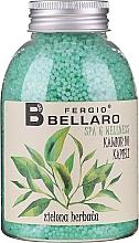 Düfte, Parfümerie und Kosmetik Entspannendes Badekaviar Grüner Tee - Fergio Bellaro Green Tea Bath Caviar