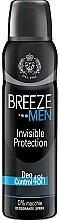 Düfte, Parfümerie und Kosmetik Breeze Deo Invisible Protection - Deospray