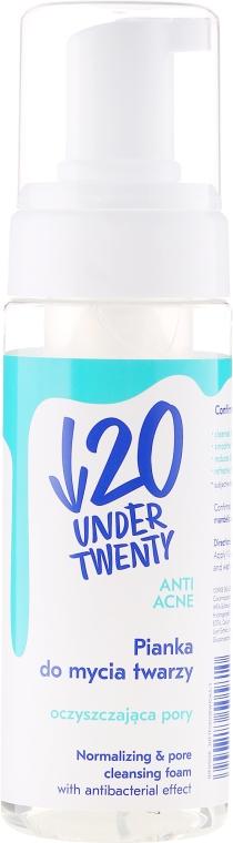 Anti-Akne Gesichtswaschschaum - Under Twenty Anti! Acne