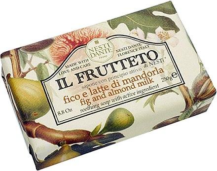 Naturseife Fig & Almond Milk - Nesti Dante Moisturizing & Soothing Soap Il Frutteto Collection
