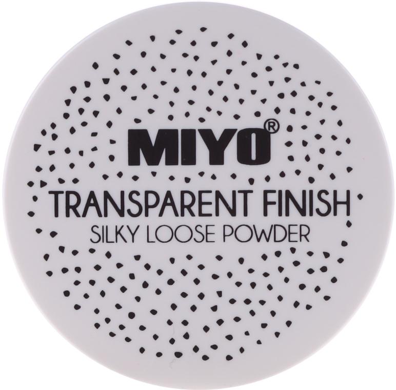 Loser Gesichtspuder - Miyo Transparent Finish Powder