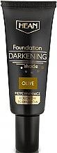 Düfte, Parfümerie und Kosmetik Flüssige Grundierung mit dunklen Pigmenten und Vitamin E - Hean Darkening Shade