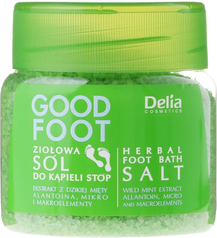 Kräuter Fußbadesalz - Delia Cosmetics Good Foot Herbal Foot Bath Salt