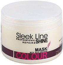 Düfte, Parfümerie und Kosmetik Haarmaske - Stapiz Sleek Line Colour Mask