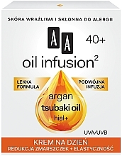 Anti-Falten Tagescreme - AA Oil Infusion Day Cream Against Wrinkles 40+ — Bild N1