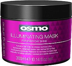 Düfte, Parfümerie und Kosmetik Feuchtigkeitsspendende Vitalmaske für normales bis feines Haar - Osmo Blinding Shine Illuminating Mask