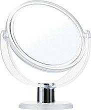 Düfte, Parfümerie und Kosmetik Doppelseitiger Standspiegel 9275 12 cm weiß - Donegal Mirror