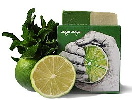 Düfte, Parfümerie und Kosmetik Naturseife mit Minz- und Limettenöl - Uoga Uoga I'm no Sweetie Soap
