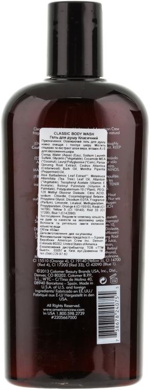 Duschgel mit Ginseng-Wurzel - American Crew Classic Body Wash — Bild N2