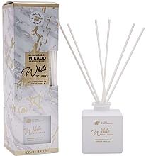 Düfte, Parfümerie und Kosmetik Aroma-Diffusor Ingwer und Vanille - La Casa de los Aromas Mikado Exclusive White