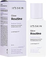 Düfte, Parfümerie und Kosmetik Gesichtsserum für Strahlen und Spannkraft mit Vitaminkomplex - It's Skin Glow Routine Radiant Serum