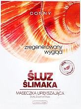 Düfte, Parfümerie und Kosmetik Feuchtigkeitsspendende und beruhigende Tuchmaske mit Schneckenextrakt - Conny Snail Essence Mask