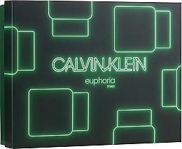Düfte, Parfümerie und Kosmetik Calvin Klein Euphoria Men - Duftset (Eau de Toilette 100ml + Eau de Toilette 15ml + After Shave Balsam 100ml)