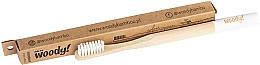 Düfte, Parfümerie und Kosmetik Bambuszahnbürste mittel Colour weiß - WoodyBamboo Bamboo Toothbrush