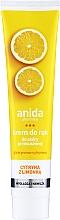 Düfte, Parfümerie und Kosmetik Handcreme mit Zitrone - Anida Pharmacy Lemon Hand Cream