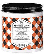 Düfte, Parfümerie und Kosmetik Feuchtigkeitsspendende Haarmaske mit roter Tonerde und Hyaluronsäure - Davines Quick Fix Circle Hair Mask