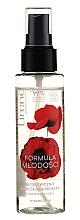 Düfte, Parfümerie und Kosmetik Feuchtigkeitsspendendes Gesichtsspray mit Mohnblume - Lirene Formula of Youth Spray