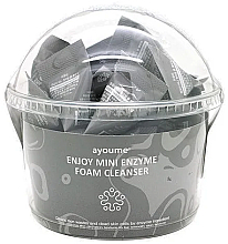 Düfte, Parfümerie und Kosmetik Enzymatischer Gesichtsreinigungsschaum mit Hyaluronsäure - Ayoume Enjoy Mini Enzyme Foam Cleanser