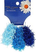 Düfte, Parfümerie und Kosmetik Haargummis Spaghetti 3 St. hellblau, blau, dunkelblau 21695 - Top Choice