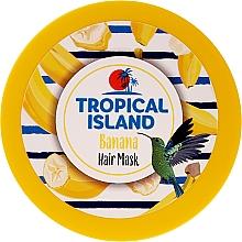 Düfte, Parfümerie und Kosmetik Pflegende Haarmaske mit Banane - Marion Tropical Island Banana Hair Mask
